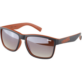 UVEX LGL 39 Brille, rød/sort